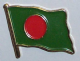Bangladesh Country Flag Enamel Pin Badge
